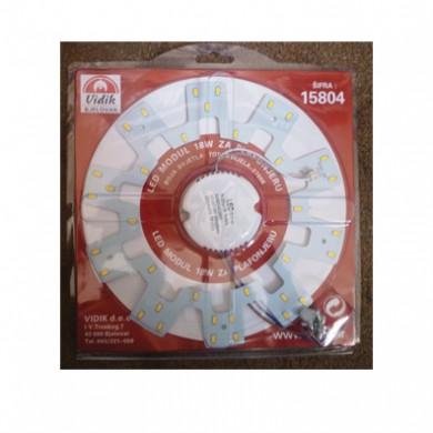 LED modul, 18W, 220V, warm white, dia 230mm