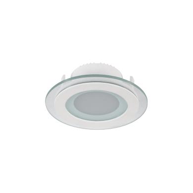 LED-glass-panel-round,-6W,-18W,-85V---265V